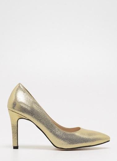 D by Divarese Klasik Ayakkabı Altın